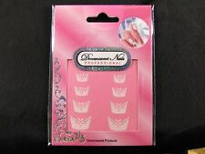 French Nail Tips Glitter Manicure Art Sticker Decals N-S-FNA03