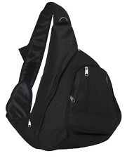 Everest Sling Single Strap Shoulder Backpack Messenger Bag BLACK
