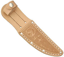 """MARBLE'S LEATHER SHEATH FOR UP TO 4.5"""" STRAIGHT FIXED BLADE KNIFE, MR533"""
