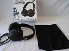 SKULLCANDY HESH 2 WIRELESS BLUETOOTH 4.0 BLACK HEADPHONES , NEW IN BOX