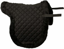 NEW PREMIUM QUILTED ENGLISH ALL PURPOSE SADDLE PAD WITH FLEECE HORSE TACK