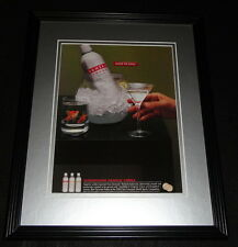 2003 Danzka Vodka Framed 11x14 ORIGINAL Advertisement