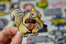 SCRAT Saber Toothed Squirrel Ice Age Acorn Stitched Patch Iron/Sew On PatcheS
