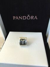 Authentic Pandora Letter Y Sterling Silver Initial Charm #790323 Bead Alphabet