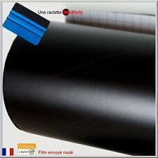 film vinyle mat noir thermoformable adhésif sticker covering 152 cm x 20 cm