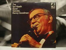 THE TED HEATH BAND SALUTES BENNY GOODMAN LP 1976 DECCA UK ITA PHASE 4