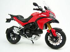 Ducati Multistrada 1200 S rot  Modell Motorrad 1:12 Maisto scale model  01338