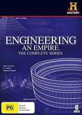 Engineering An Empire - The Complete Series (DVD, 2010, 6-Disc Set)