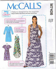 Easy Wrap Dress Belt Learn to Sew For Fun Sewing Pattern Plus Sz 14 16 18 20 22