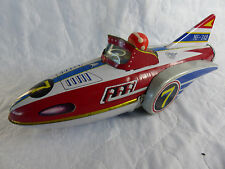 Vintage made in china mf-742 Space Rocket Boat de chapa-tinplate - 32cm