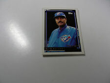 Cito Gaston (manager) 1992 Topps Gold Winner card #699