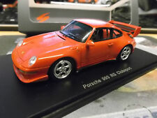 PORSCHE 911 993 Carrera RS Clubsport red rot CS S4474 spark Resin 1:43