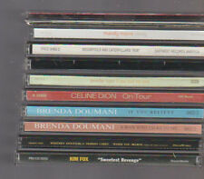 CD Single Lot of 11 Celine Dion Mandy Moore Jennifer Lopez Kim Fox