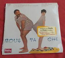 MOUSTACHE  LP REEDITION FR  25 CM  TIRAGE LIMITE ET NUMEROTE NEUF SCELLE