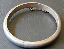 Sterling Silver  Child Bangle  Bracelet  Baby  Toddler Hinged  Chain 5 ""