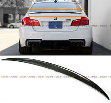 2011-15 BMW F10 M5 550i Carbon Fiber Performance Style Rear Trunk Spoiler Wing