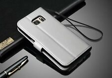 Luxury Leather Wallet Case Magnetic Flip Cover Stand For Samsung Mobile Phones