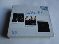EAGLES 3 For One CD Box 3 CDs Desperado/Hotel California/The Long Run 2003 Impor