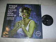 IRENE REID Room For One More *60s VERVE ORIGINAL LP*Like Eartha Kitt,Nina Simone
