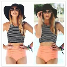 Ladies One Piece Bandage Bikini Push Up Monokini Swimsuit Bathing Suit Swimwear