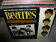 BEATLES songs pictures & stories of fabulous ( rock ) - mono - vee jay brackets