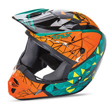 Fly Racing Kinetic Crux Helmet Motocross Dirt Bike Offroad MX ATV Snowmobile '17