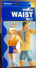 BRAND NEW DELUXE WAIST BELT NO:80345 BLUE COLOR BODY SHAPER