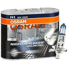 2er Set OSRAM Night Breaker Unlimited H1 64150NBU +110% mehr Licht