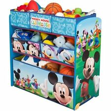Toy Box Chest Organizer Storage Kid Child Furniture Disney Mickey Mouse New