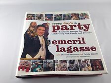 Emeril Lagasse ~ Every Day's A Party ~ Signed Copy ~ 1st Edition ~ Ships FREE!
