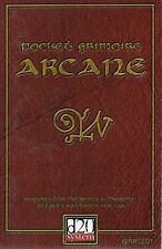 Pocket Grimoire Arcane-Magic at your fingertips-d20 - (SC) - Engl. - New-very rare