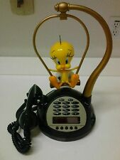 Vintage Tweety Bird Phone Radio Alarm Clock