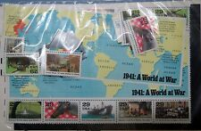 "1941 ""A WORLD AT WAR"" U.S.WORLD WAR II STAMPS MINT SET, NEW Unopened and Unused"