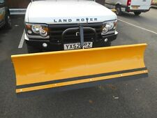 LAND ROVER DISCOVERY 2 PRE-FACELIFT MODEL HEAVY DUTY BUMPER AND SNOW PLOUGH