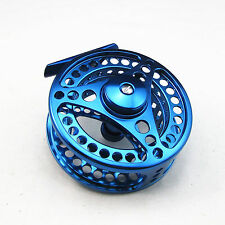 7/8 CNC Machined Aluminum Fly Fishing Reel 95mm Blue Color