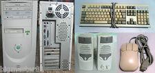 Case Computer Desktop ATX Intel Pentium III 500MHz MMX  - 256MB di RAM