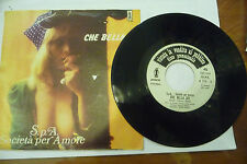 "SPA SOCIETA'PER AMORE""CHE BELLA SEI-disco 45 giri POLARIS It.1976""SEXY COVER"