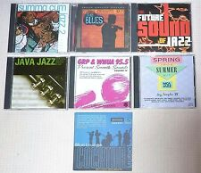 LOT of (7) BLUES & JAZZ MUSIC by VARIOUS ARTIST  / CD's