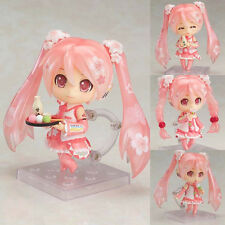 Japanese Anime Vocaloid Hatsune Miku Sakura PVC Action Figure Statue 10cm No Box