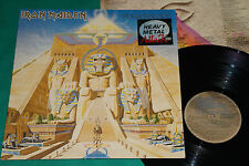 Iron Maiden / Queensrÿche ‎– Powerslave / The Warning BRAZIL MISSPRESS LP 1984