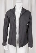 CHRISTIAN DIOR HOMME Mens Charcoal Gray Cotton Lightweight Zip Shirt Jacket 41