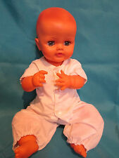 "Vintage Canadian Regal Doll Toy 17"" Sleep Eyes and Molded Hair"