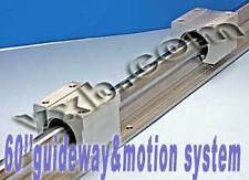 "20mm 60"" Rail Guideway System w/2 Slide Units Linear Motion 8389"