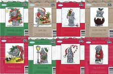 DMC Me to You - Full Set of 8 Christmas Tatty Teddy Mini Cross Stitch Kits