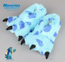 Original Novelty Monsters University Sulley Drag Plush Slipper Adult Indoor Shoe