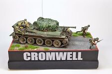 POLISH CROMWELL, 1ST ARM. DIV. FRANCE 1944, BUILT, 1/35 W/BASE AND FIGURES