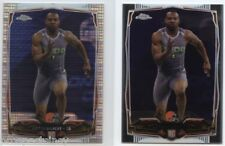 Lot of (46) Justin Gilbert 2014 Topps Chrome Mini RC Cards w/ Pulsar - Browns CB