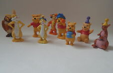 DISNEY WINNIE THE POOH  PLASTIC FIGURES/CAKE DECORATIONS