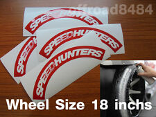 Speedhunters TireBomb Custom  tire stencil Decals Wheels 18'' Drift formula e