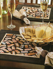 Wine & Cheese Table Set Quilt Pattern Pieced CV